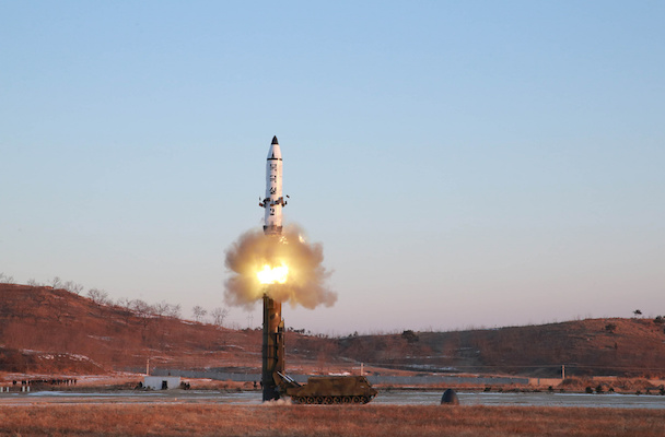 North Korea tests missiles for first time since 2017
