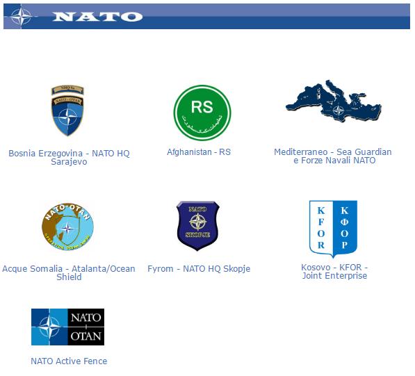 ITALIA MISSIONI NATO