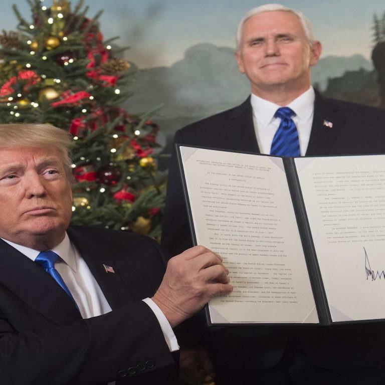 Trump_Gerusalemme