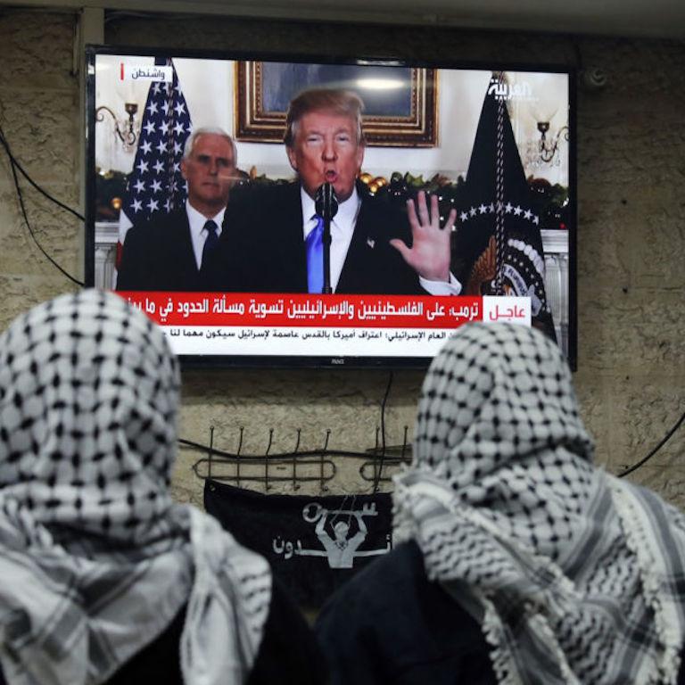 Trump Gerusalemme capitale Israele