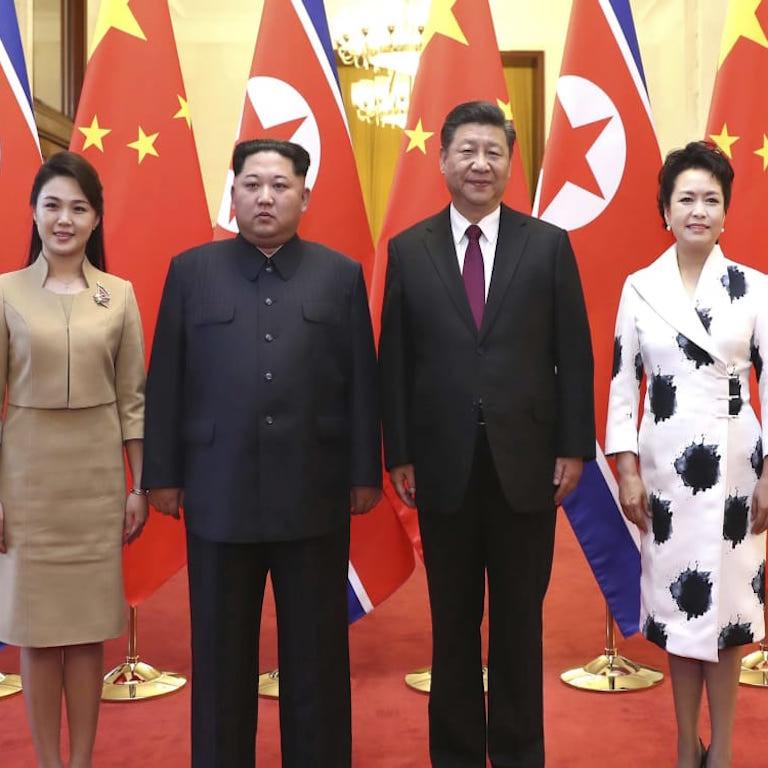 Xi Jinping in Corea del Nord da Kim
