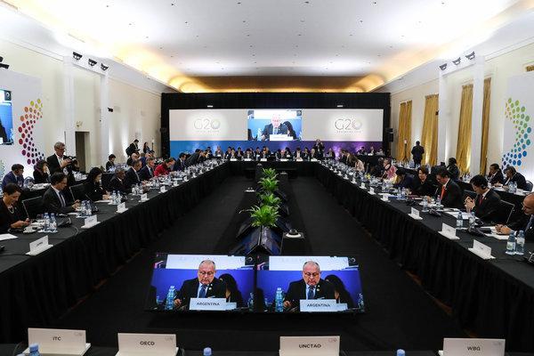 Il G20 dei ministri del commercio estero in Argentina: riformare il WTO