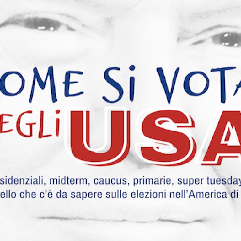 Copertina libro Come si vota negli USA
