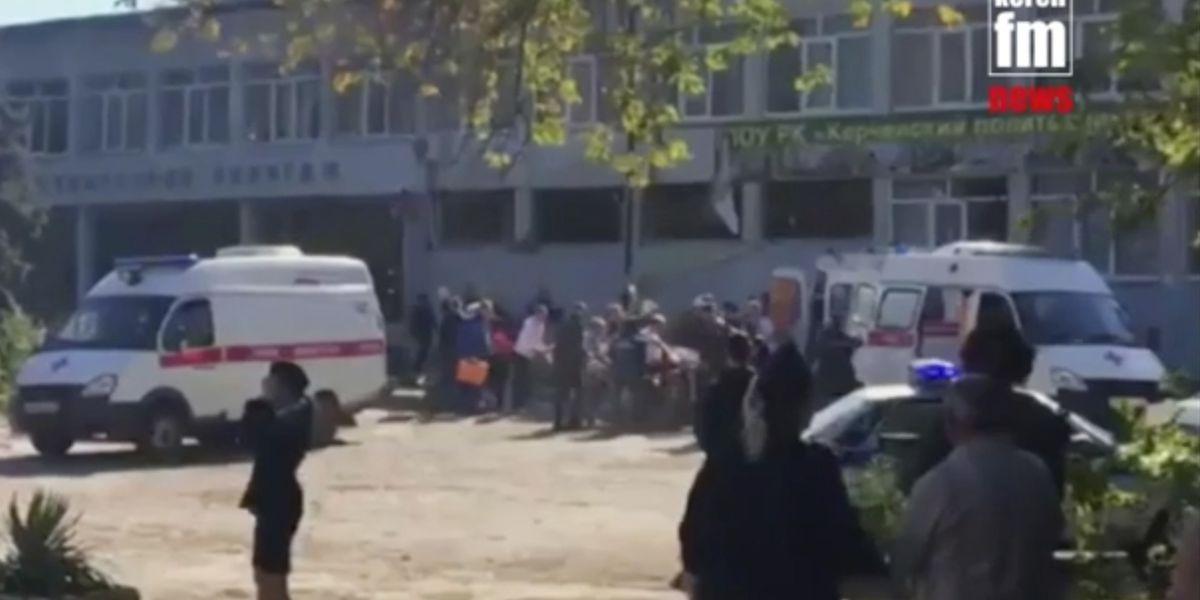 Crimea, strage al Politecnico di Kerch