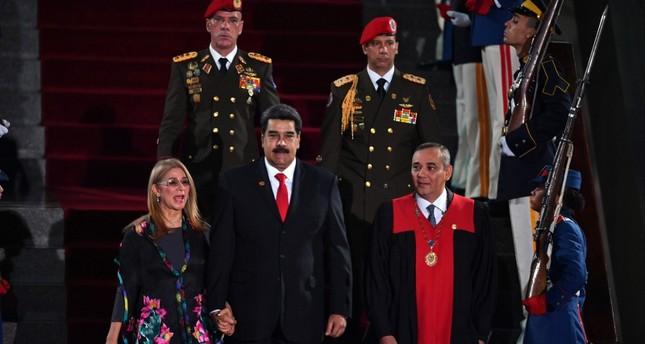 Inizia il nuovo governo di Nicolas Maduro