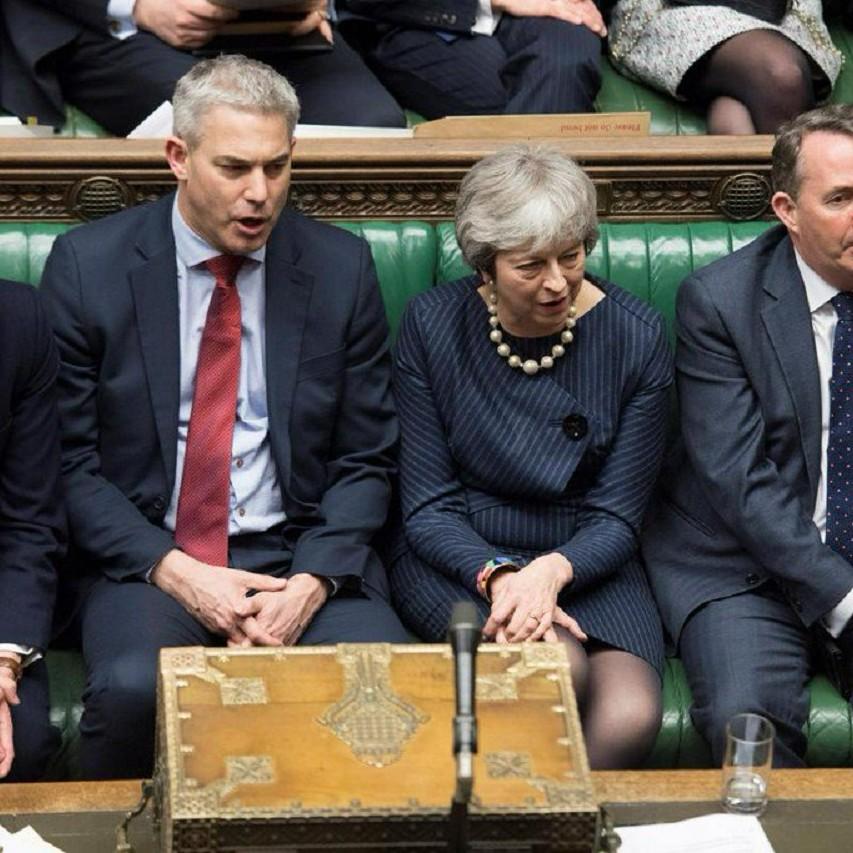 Un'immagine del parlamento inglese