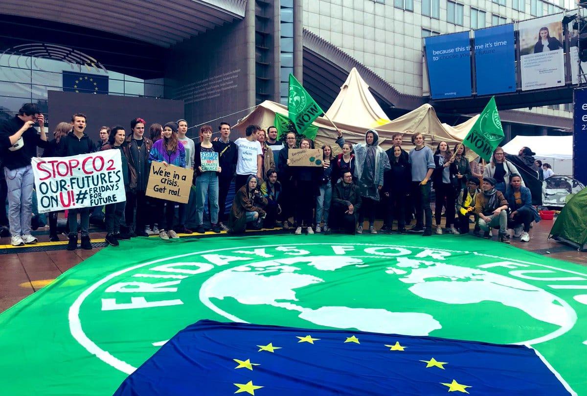 le manifestazioni pro clima in Europa