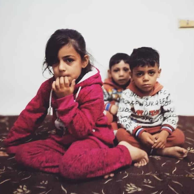 Giordania, Amman, Damiano Greco, tra i profughi siriani
