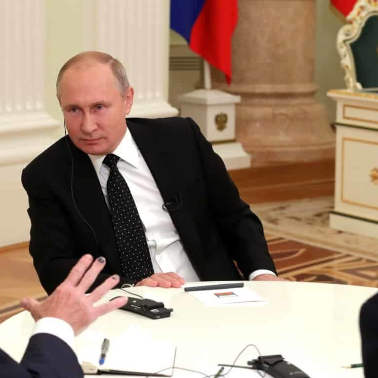 Vladimir Putin says liberalism has 'become obsolete'