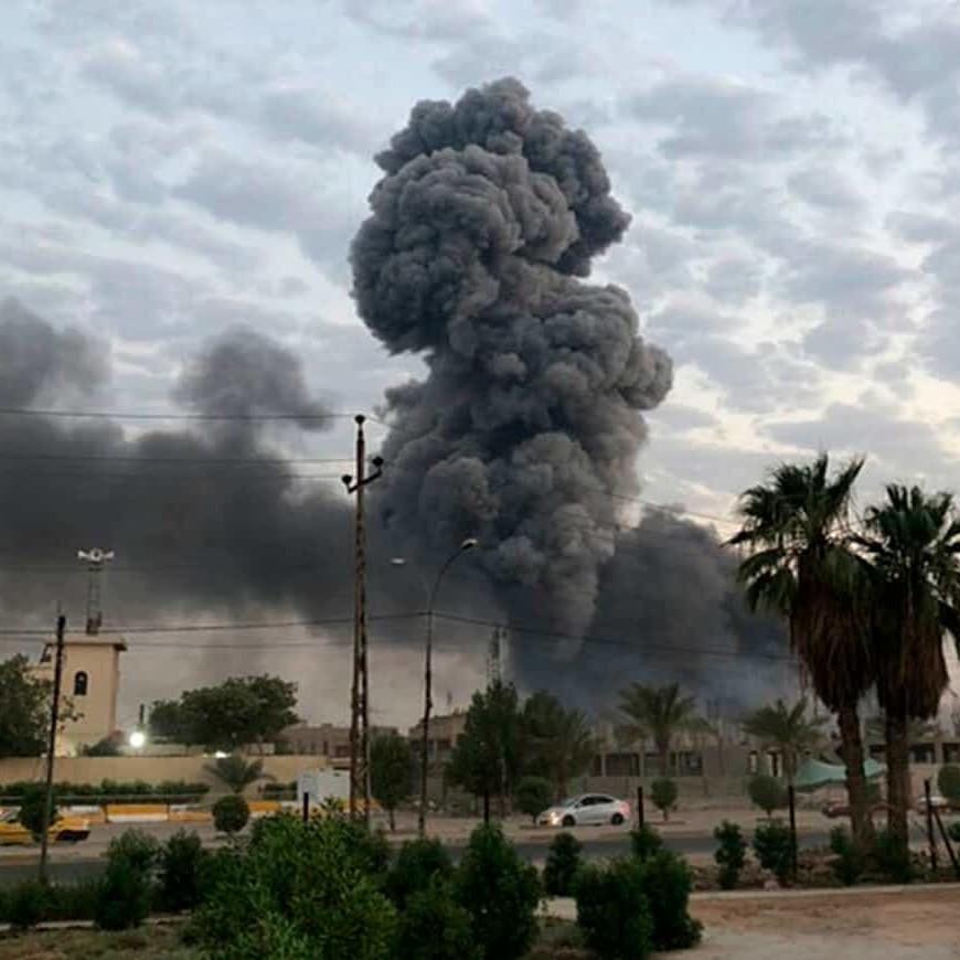 Iraq, raid di Israele contro depositi di missili iraniani