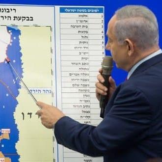 Netanyahu annuncia l'annessione della Valle del Giordano