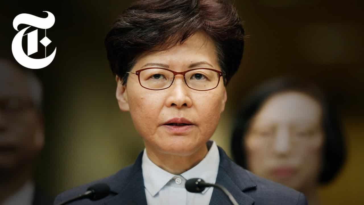Chi è Carrie Lam, leader di Hong Kong