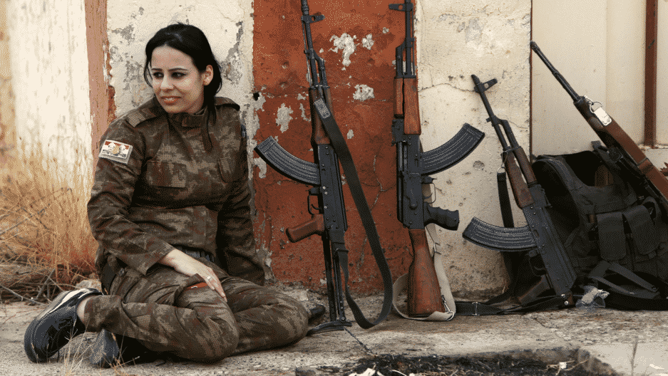 A letter to Kurdish soldiers from a US military wife