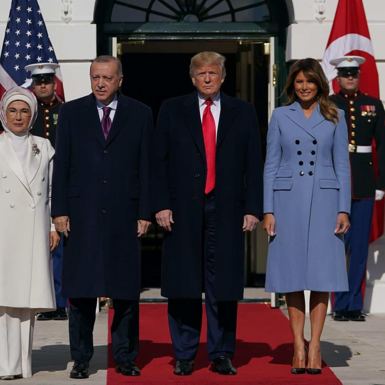 L'incontro tra Trump ed Erdogan alla Casa Bianca