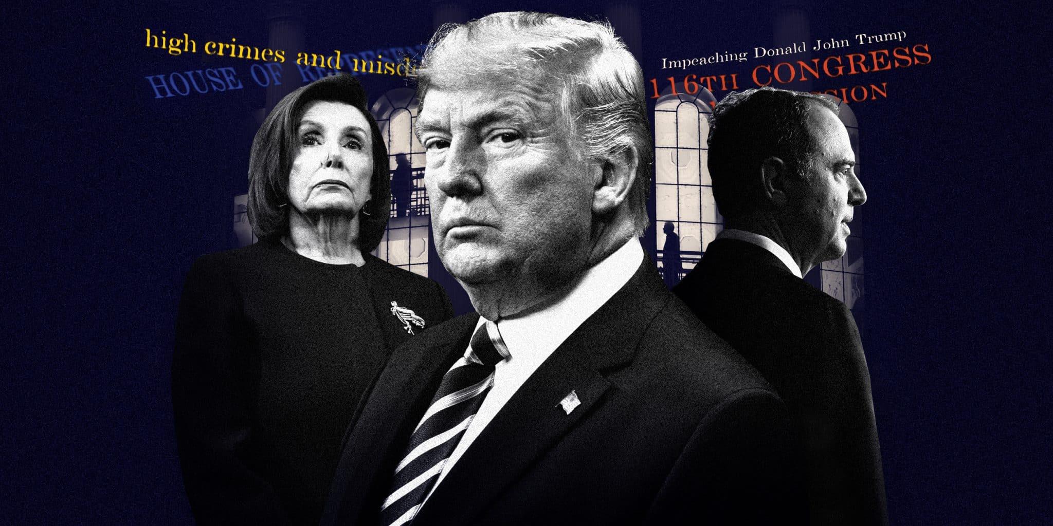 Donald Trump è sotto impeachment