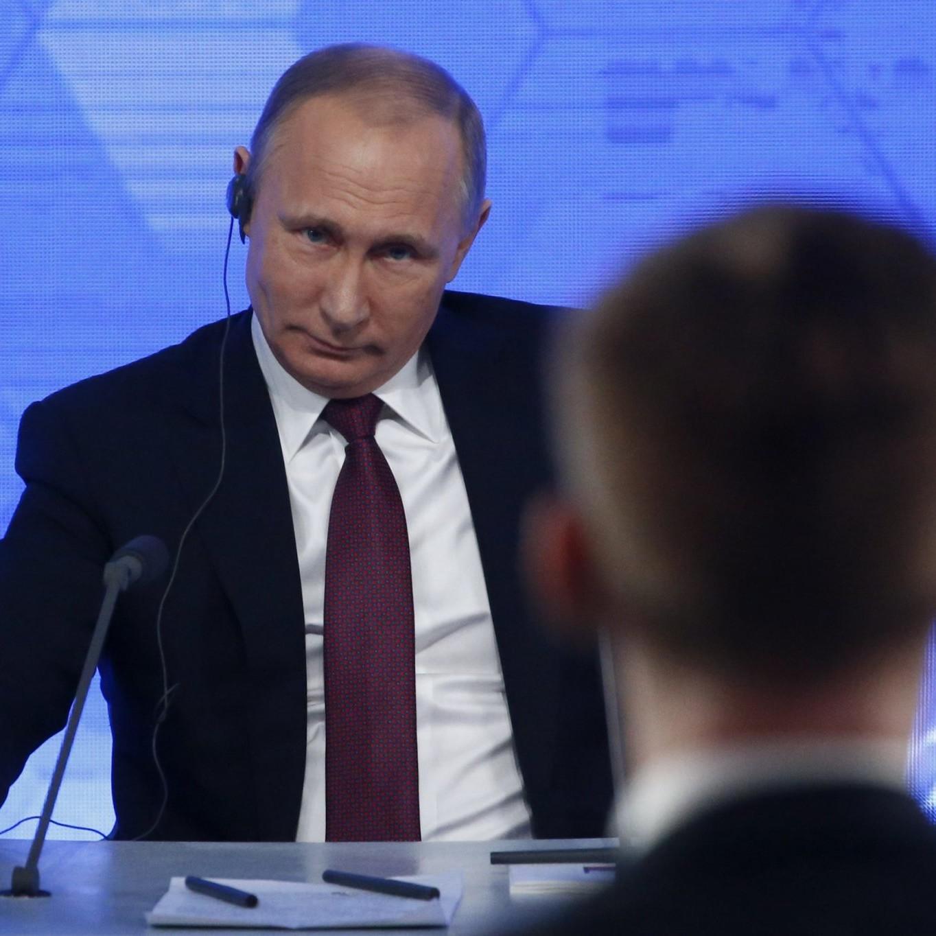 La conferenza stampa annuale di Putin