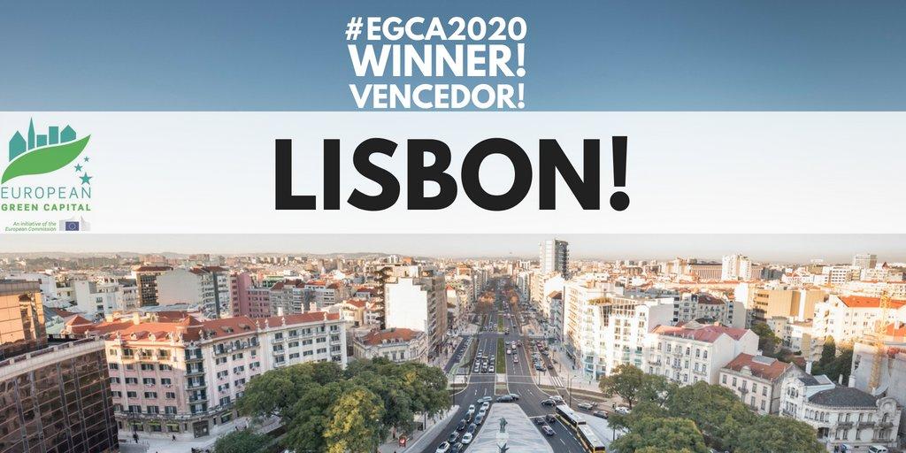 Lisbona capitale green d'Europa