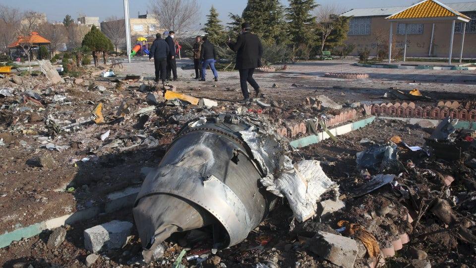 Iran: aereo ucraino abbattuto per errore