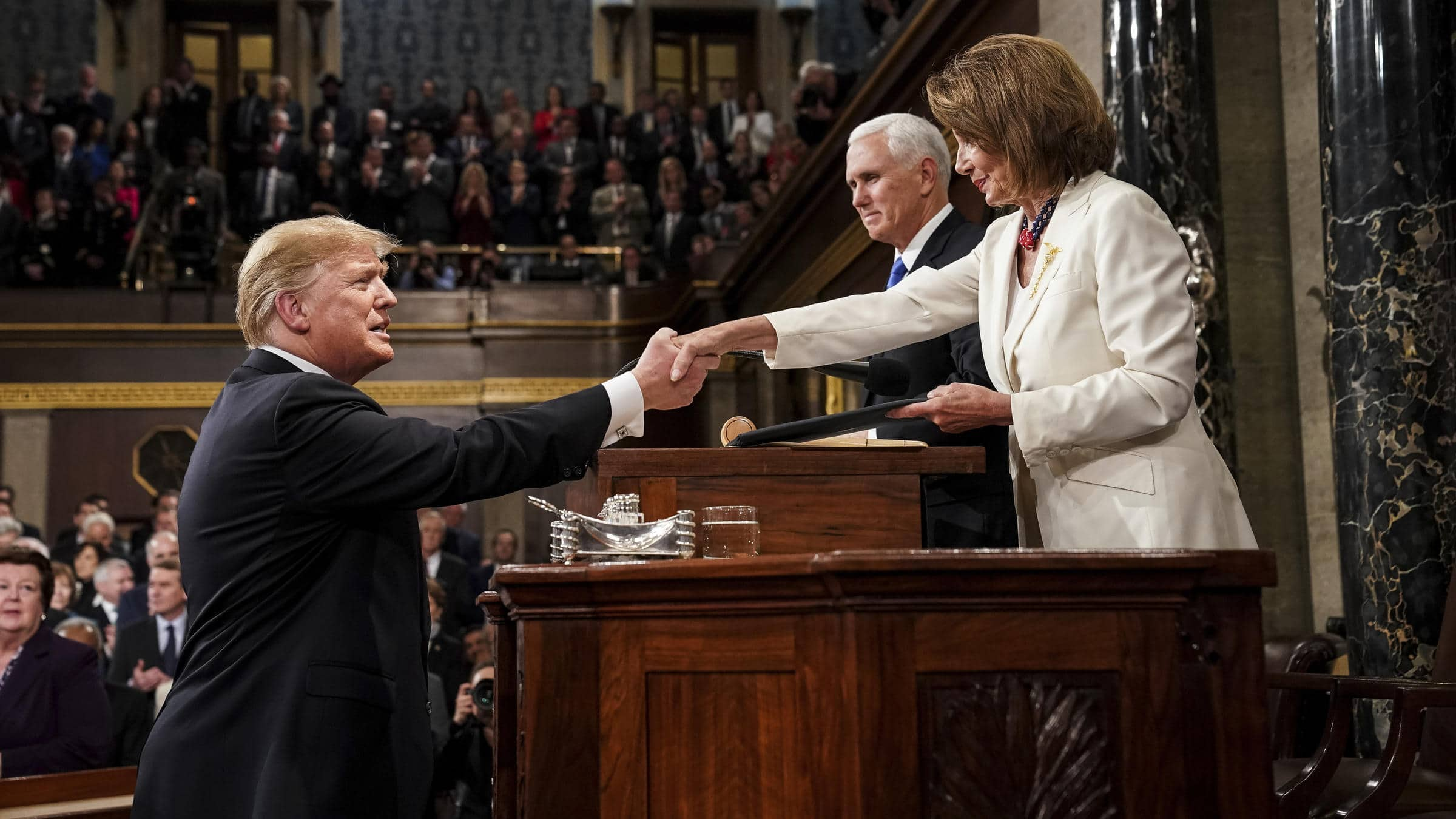 What matters most in the battle between Trump and Pelosi