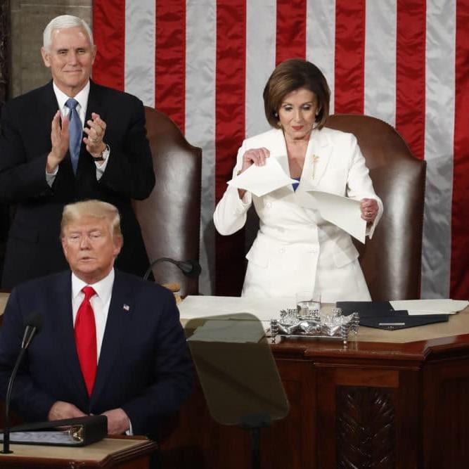Il discorso di Donald Trump sullo Stato dell'Unione
