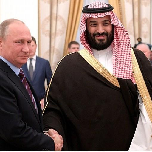 Virus, rappresaglia di Putin contro sauditi e americani