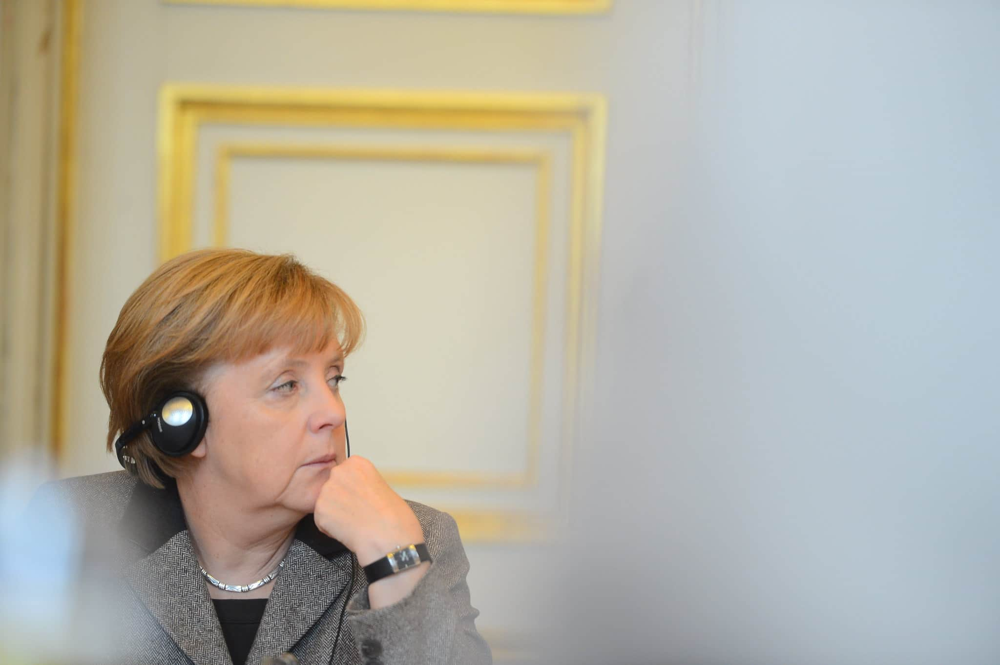 Angela Merkel, com'è il cielo sopra Berlino