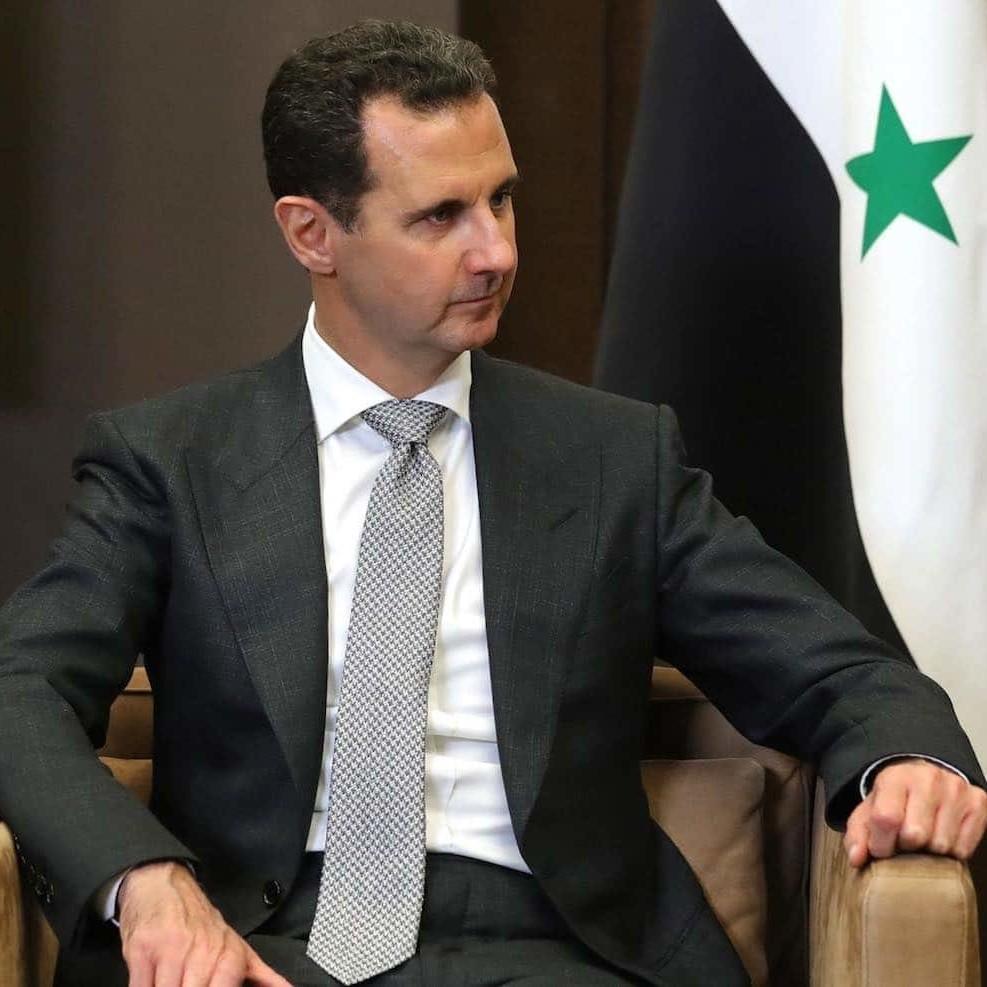 Giace inquieta la testa di Assad