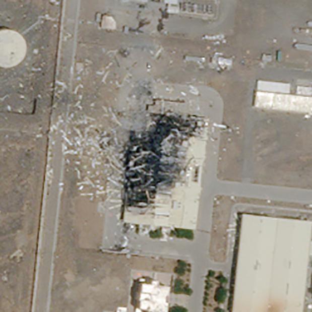Iran, l'incendio in un impianto nucleare