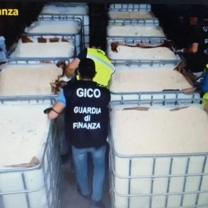 La droga dello Stato Islamico sequestrata a Salerno