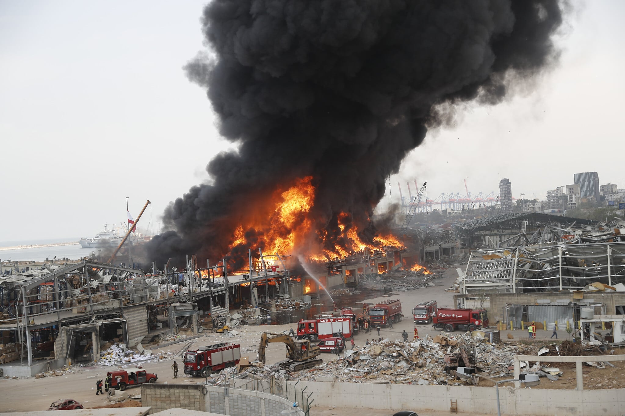 Nuovo incendio a Beirut