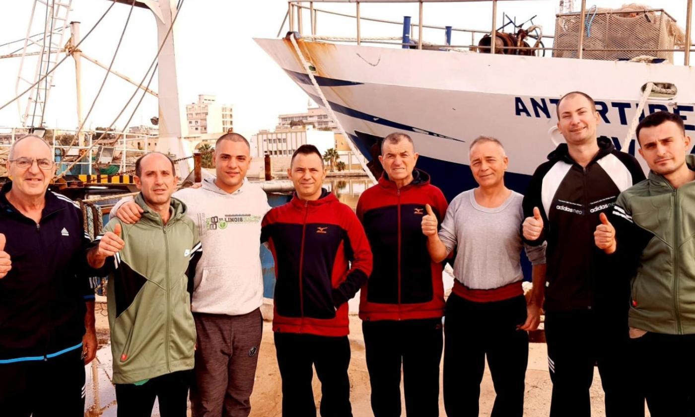 Liberati i pescatori di Mazara sequestrati in Libia