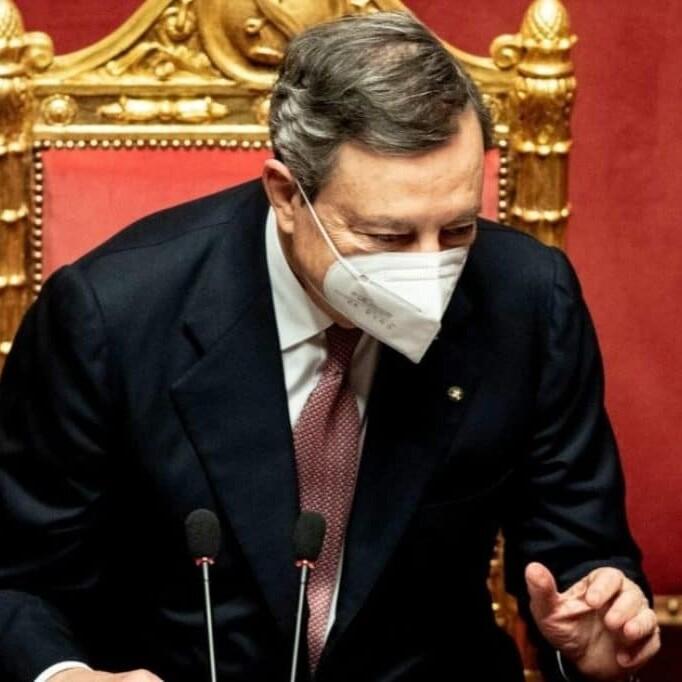 Il discorso di Mario Draghi al Senato