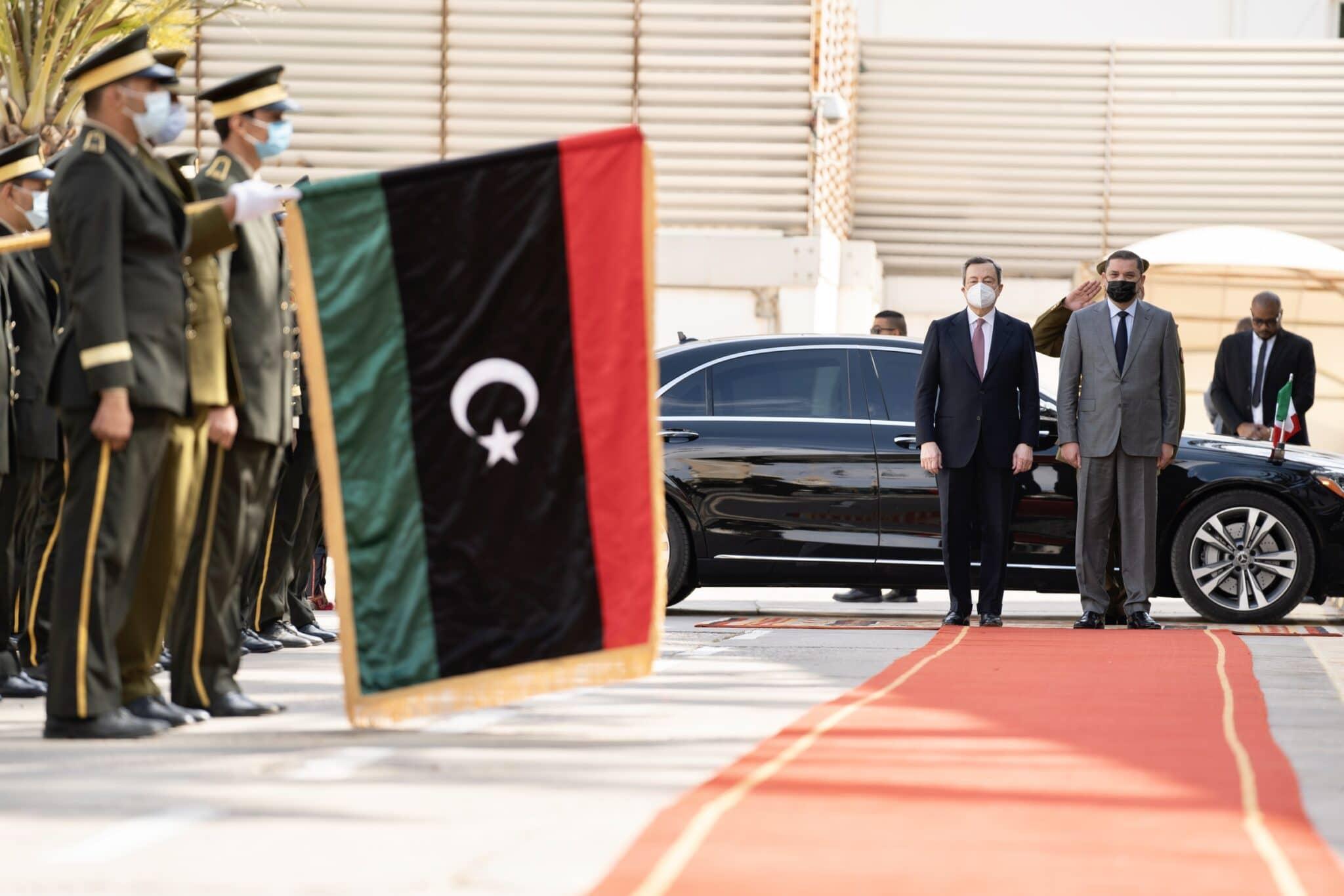 Draghi in Libia, allineamento a tre