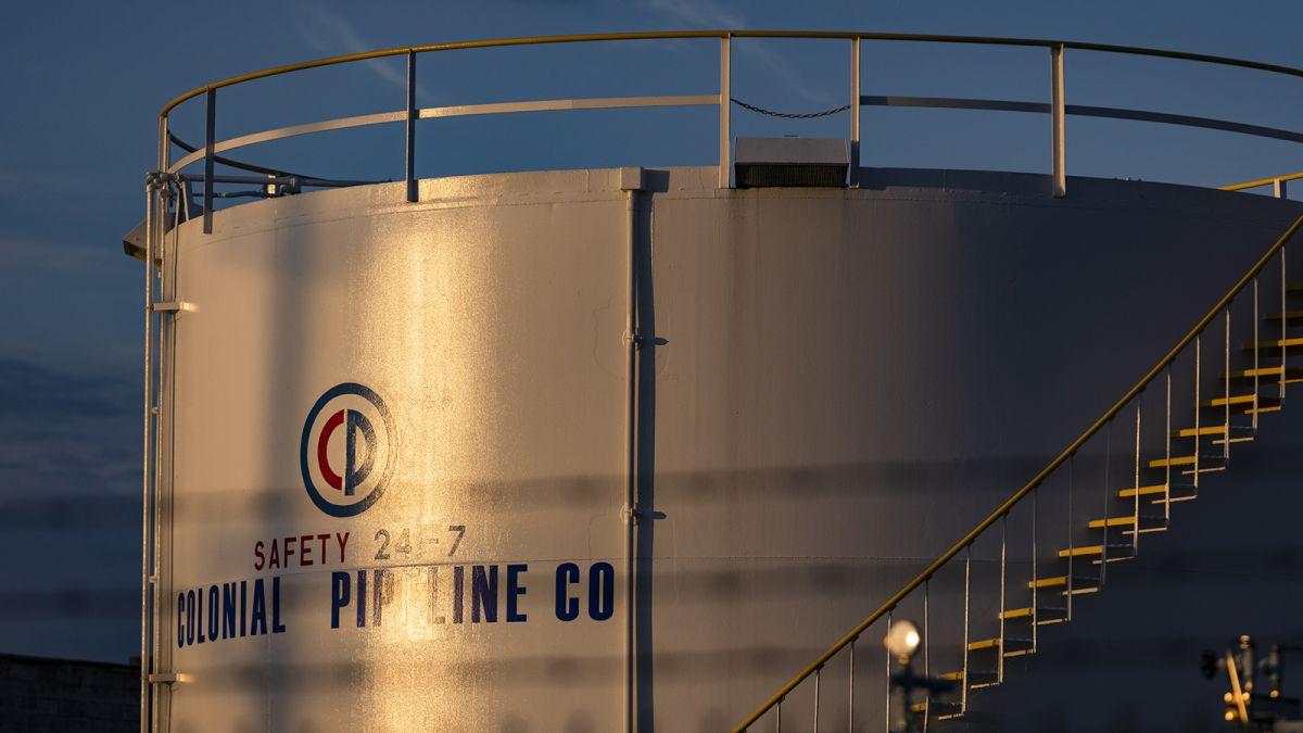 Colonia Pipeline hacker